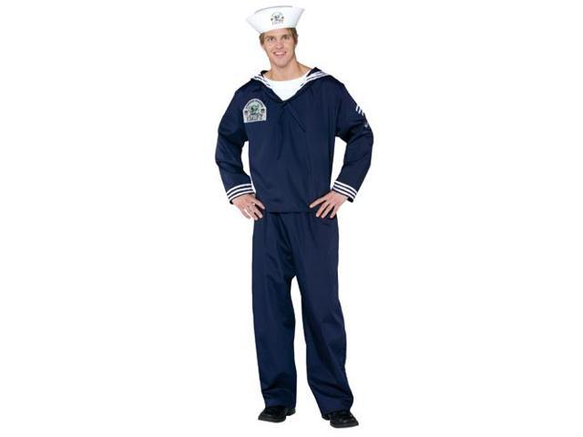 Navy Uniform Adult Costume Large
