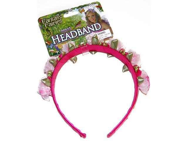 Summer Fairy Flower Headband Costume Accessory