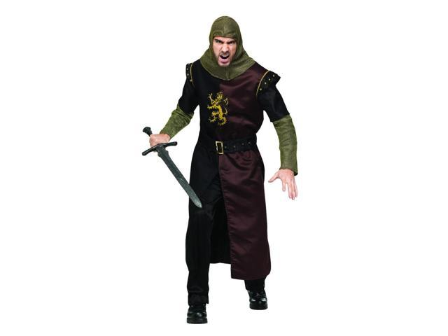 Valiant Knight Costume Adult One Size Fits Most
