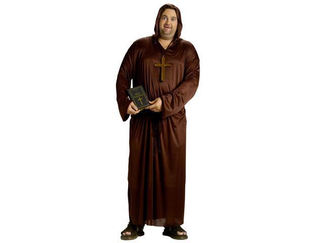 Drunk Monk Costume Adult Plus Plus Size