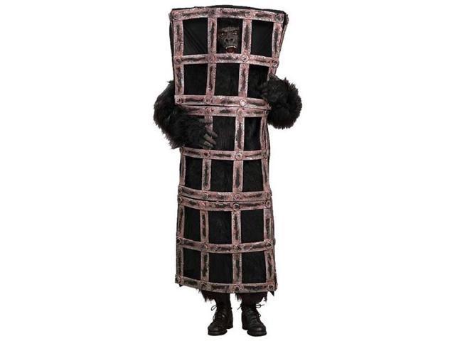 Gorilla Ape In Cage Costume Adult Standard