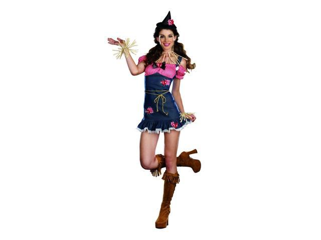 Sexy Scarecrow Cutie Costume Adult Large