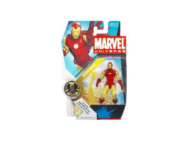 Marvel Universe Figure Iron Man Gold