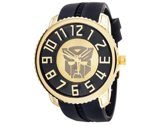 Transformers Collector Edition Watch Autobots Gold With Black