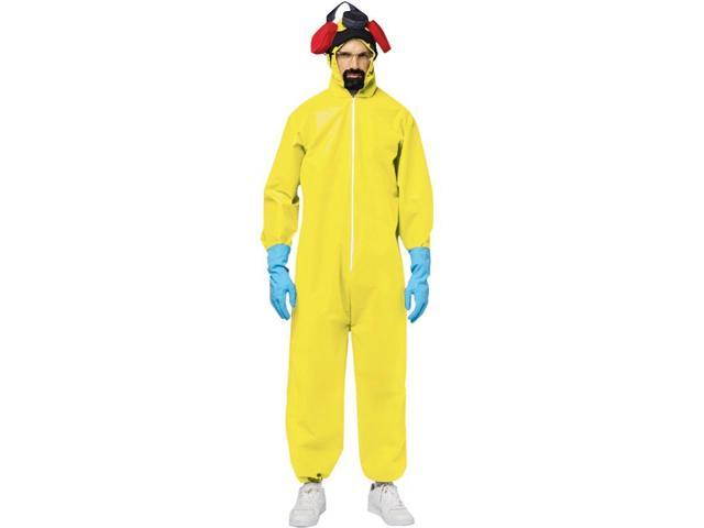 Breaking Bad Hazmat Chemical Suit Costume Adult One Size Fits Most