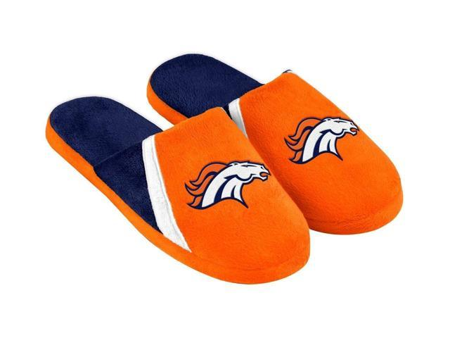 Denver Broncos NFL Swoop Logo Slide Slippers Large