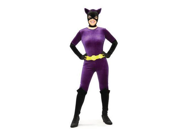 Gotham Girls Velvet Catwoman Costume Adult X-Small