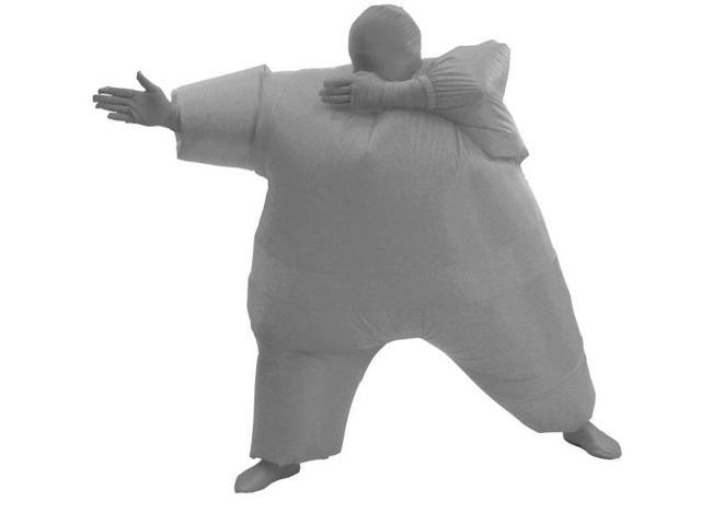Inflatable Chub Suit Costume: Gray One Size Fits Most