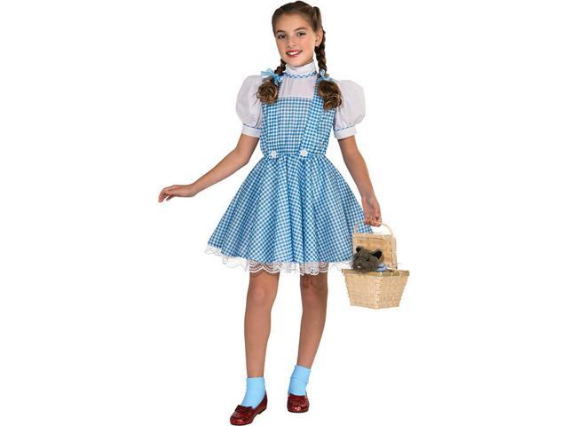 The Wizard Of Oz Deluxe Dorothy Costume Child Small