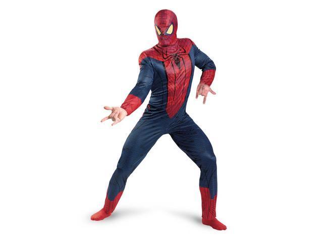 Amazing Spider-Man Classic Costume Jumpsuit Adult XX-Large 50-52