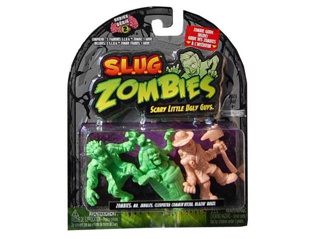 S.L.U.G. Zombies Wave2 Mr. Jangles, Cleopatra Commin'Atcha, Blazin' Basel