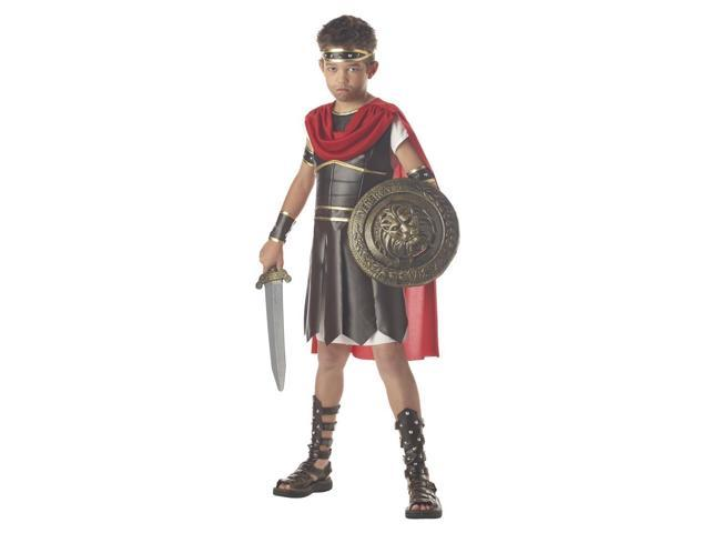 Hercules Gladiator Costume Child Tween 10-12