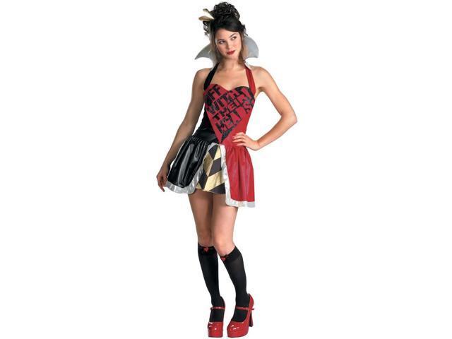 Alice in Wonderland Queen Of Hearts Adult Costume 12-14
