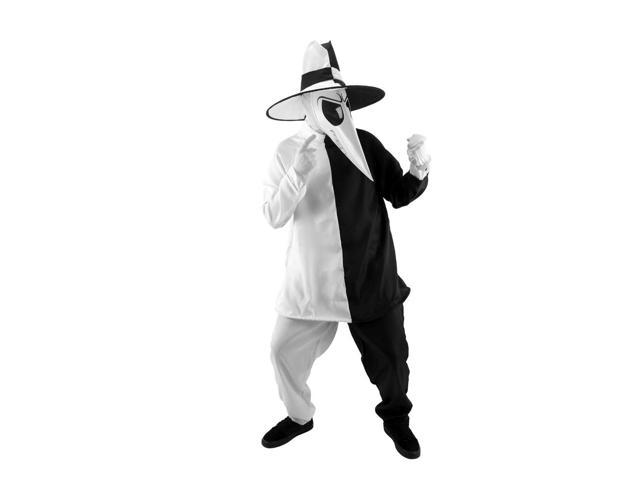 Spy Vs. Spy White & Black Costume Adult Large/X-Large