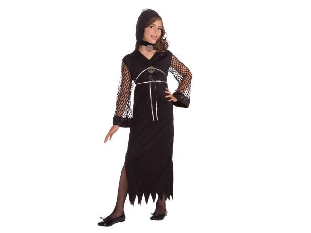 Darling Of Darkness Spunky Goth Child Costume Small