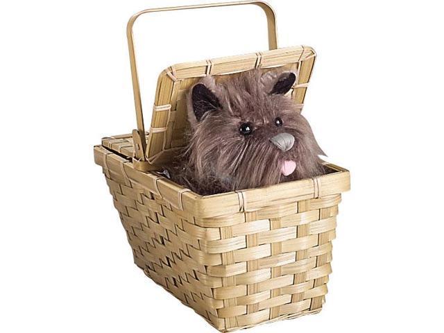 Wizard Of Oz Toto In Basket Deluxe