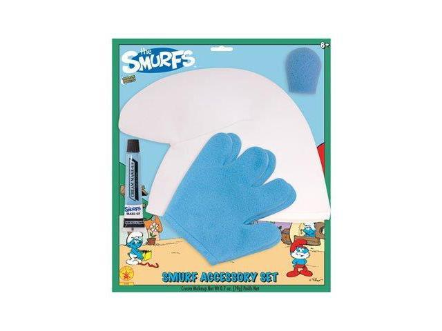 Smurfs Costume Accessory & Makeup Kit Child One Size