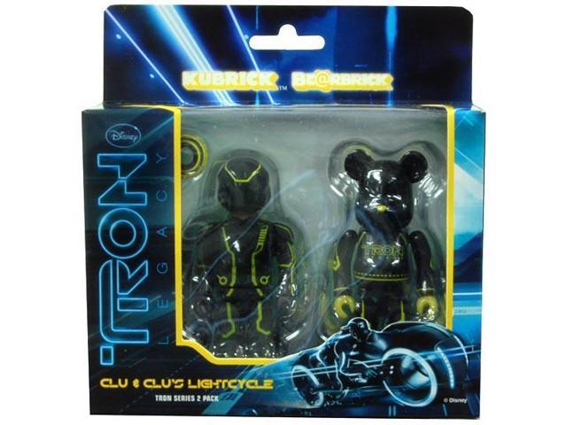 Tron Legacy Clu & Lightcycle Bearbrick Figure 2 Pack