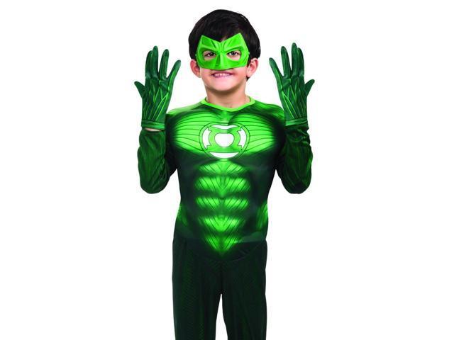 Green Lantern Gloves Costume Accessory Child
