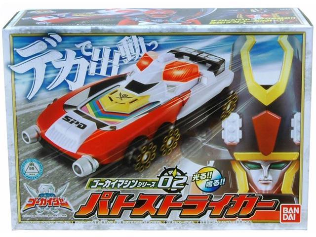 Power Rangers Gokaiger Gokai Machine Patostriker Figure