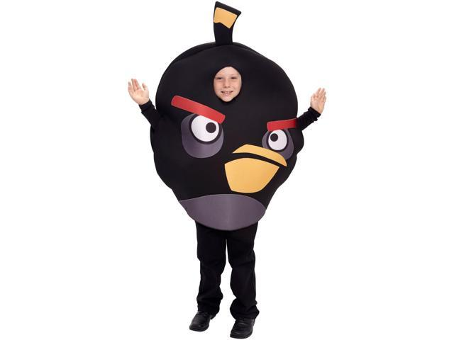 Angry Birds Black Bird Child Costume One Size Fits Most