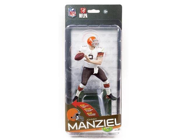 NFL Series 35 McFarlane Figure Cleveland Browns Johnny Manziel Bronze Variant