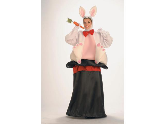Magician Trick Hat Rabbit Costume Adult Standard