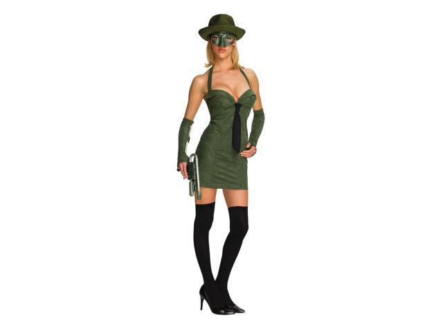 The Green Hornet Sexy Green Hornet Costume Adult Small