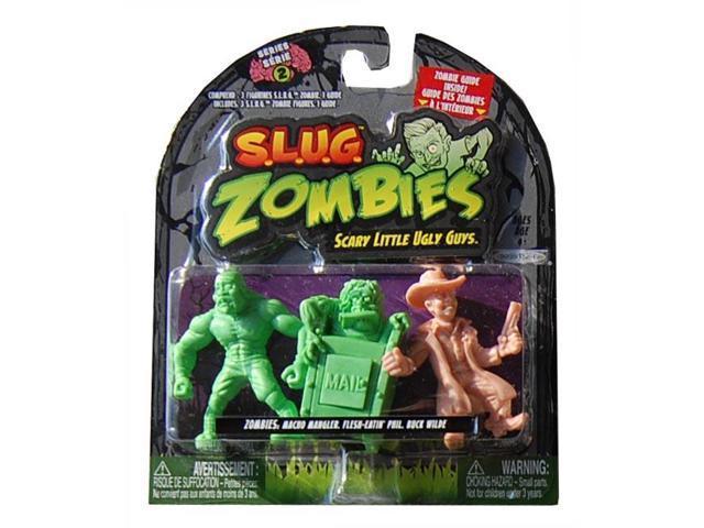 S.L.U.G. Zombies Wave 2 Macho Mangler, Flesh-Eatin' Phil, Buck Wilde