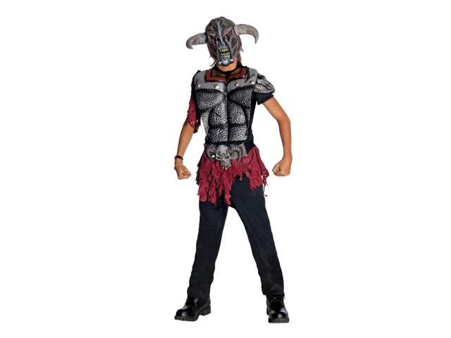 Evil Warlord Warrior Child Costume Large