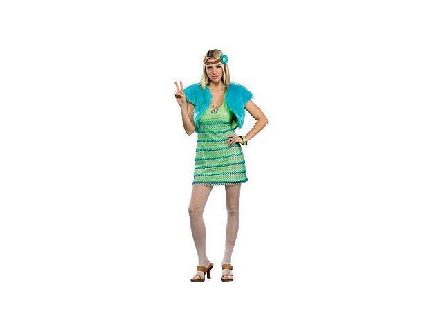 60's Girl Lime Costume Adult Standard