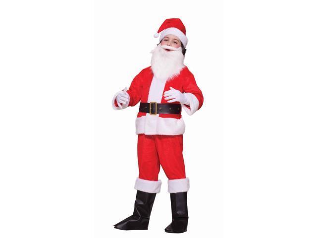 Lil Santa Claus Deluxe Costume Child 8-10