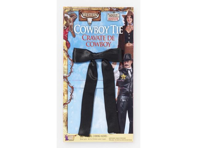 Old Fashioned Ribbon Costume Cowboy Tie One Size
