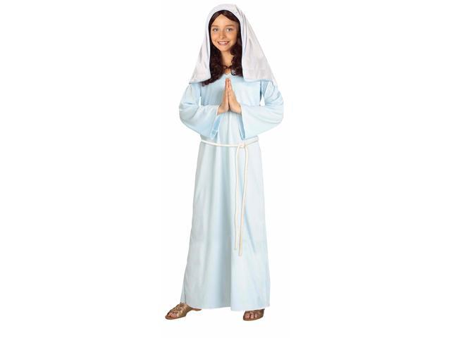 Biblical Times Mary Costume Child Large