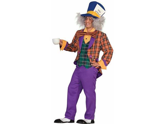 Alice In Wonderland Mad Hatter Costume Adult Standard