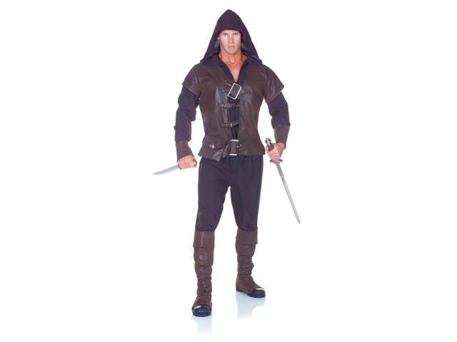 Medieval Watchman Assassin Costume Adult One Size Fits Most