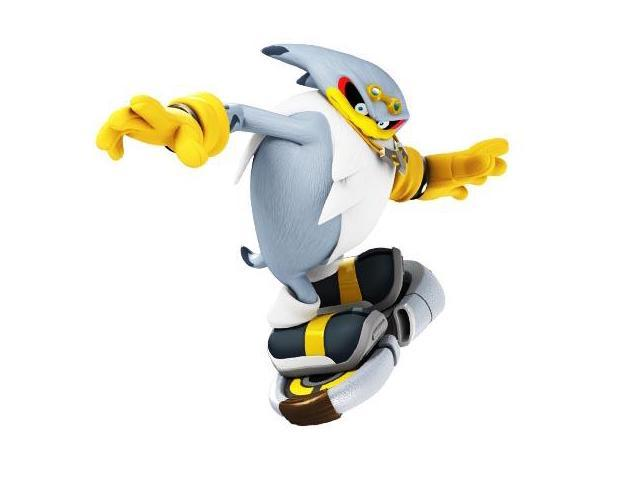 Sonic Free Riders Action Figure: Storm