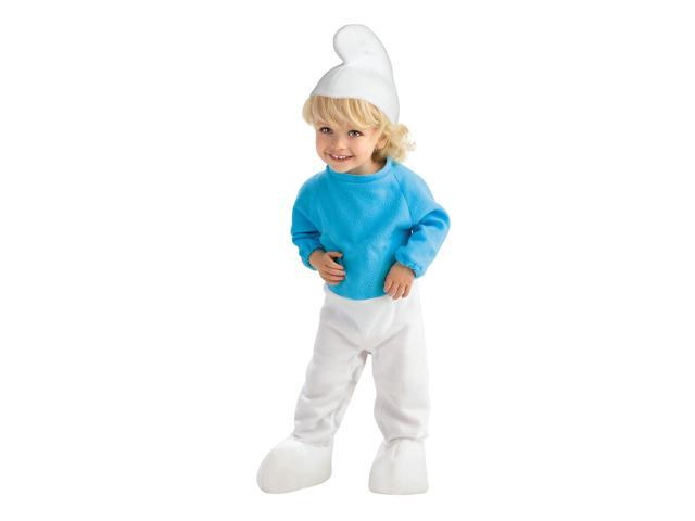 The Smurfs Movie Romper Smurf Costume Baby 0-6 Months
