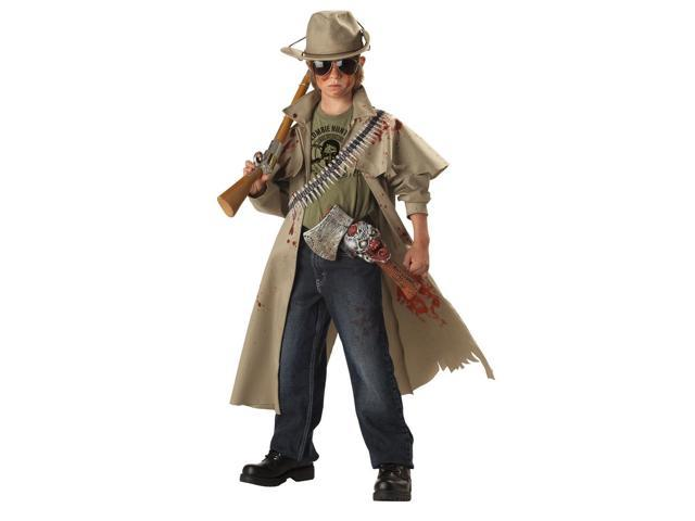 Zombie Hunter Costume Child Medium 8-10
