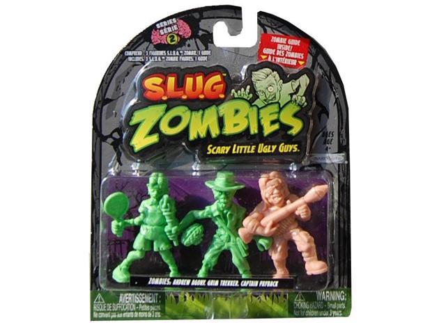 S.L.U.G. Zombies Wave 2 Andrew Agony, Grim Trekker, Captain Payback