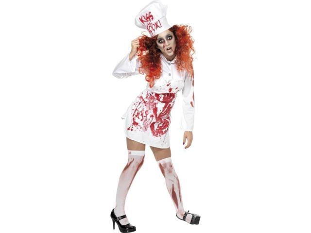 Bloody Woman's Chef Costume One Size Fits Most