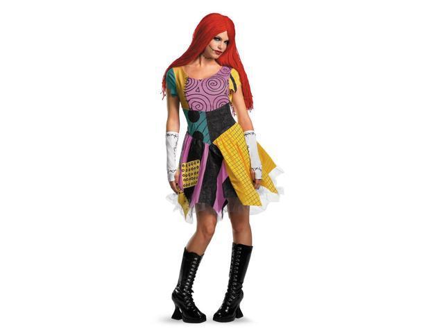 Sassy Sally Rag Goth Dress Costume Adult Large 12-14