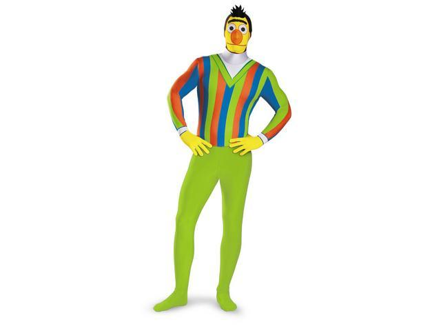 Sesame Street Bert Bodysuit Teen/Adult Costume Plus 50-52
