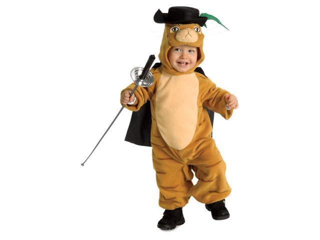 Shrek The Third Puss 'n Boots Baby Costume Newborn