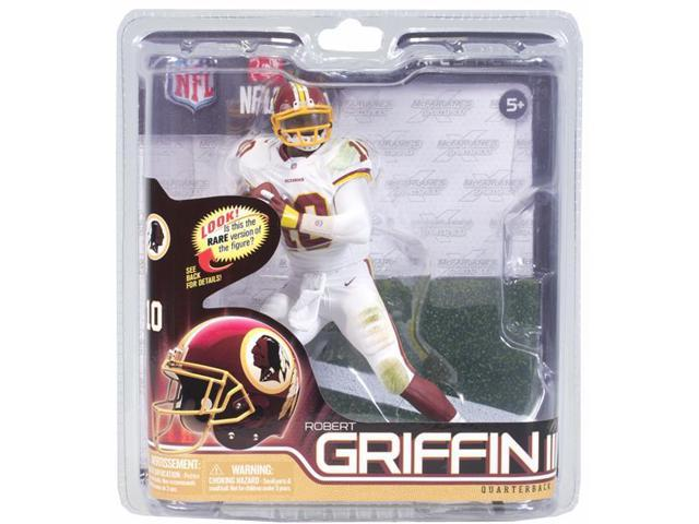 Mcfarlane NFL 31 Figure Robert Griffin III Redskins Silver Level Chase