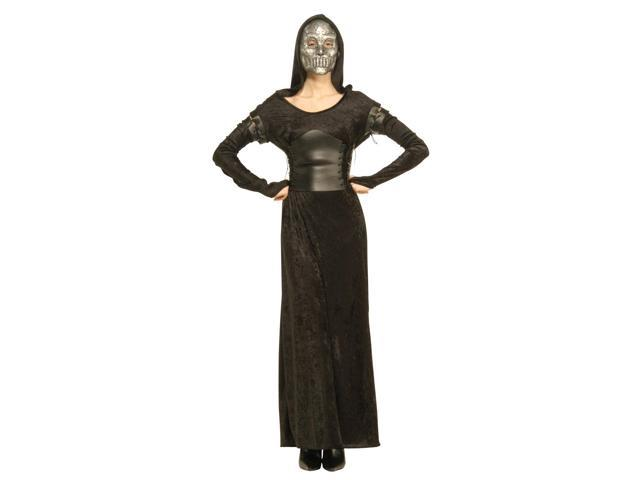 Harry Potter & The Deathly Hallows Female Death Eater Costume Adult Standard