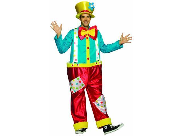 Clown Costume Adult Male Standard