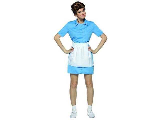 Alice The Maid Brady Bunch Hippie 70'S Female Costume Dress Adult Standard