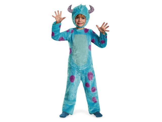 Disney Monsters University Deluxe Sulley Costume Child Toddler Small 2T
