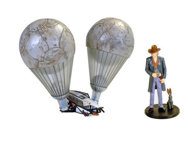 Golden Compass Lee Scoresbys Diecast Aeronaut Balloon With Figurine